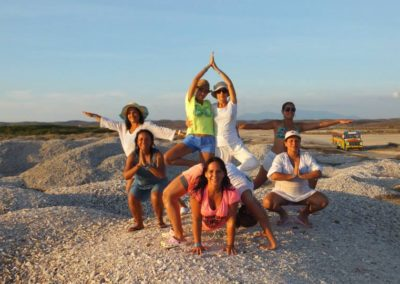 Retiro de Yoga en Coche