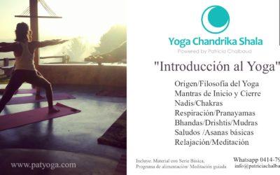 Taller Introducción al yoga
